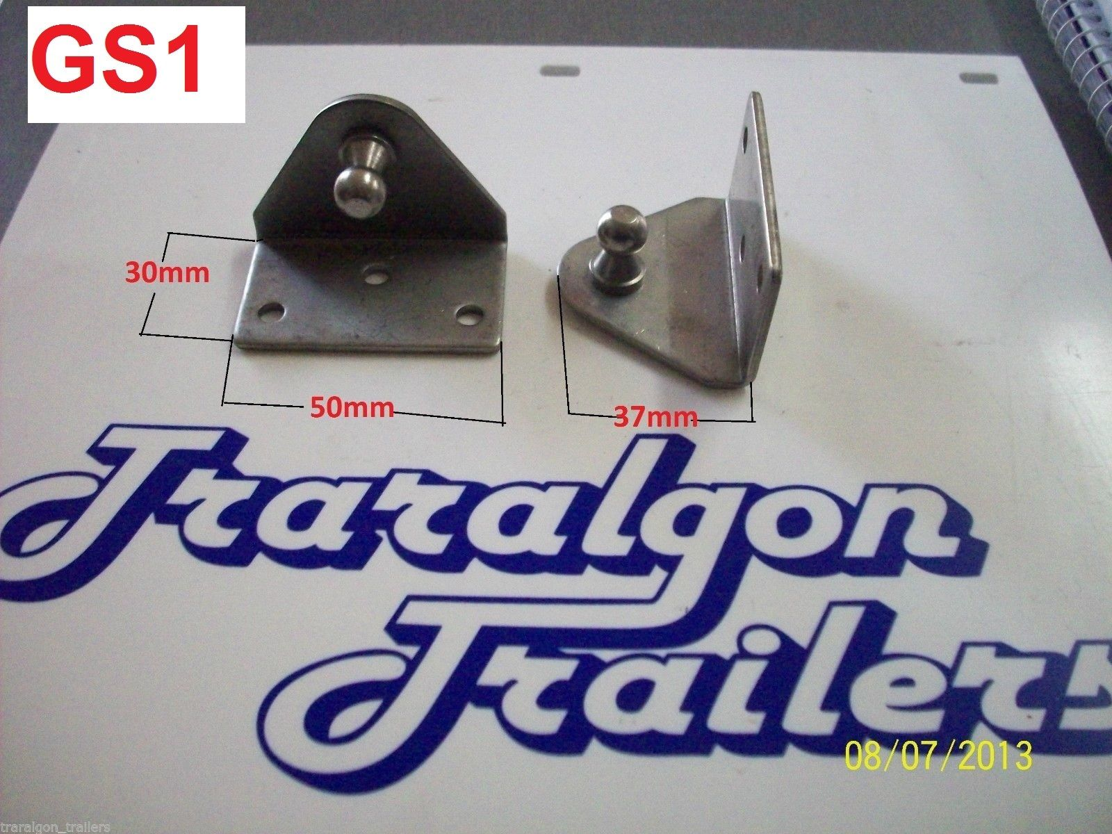 Stainless Steel Bracket For Gas Struts Trailer Caravan Super Store