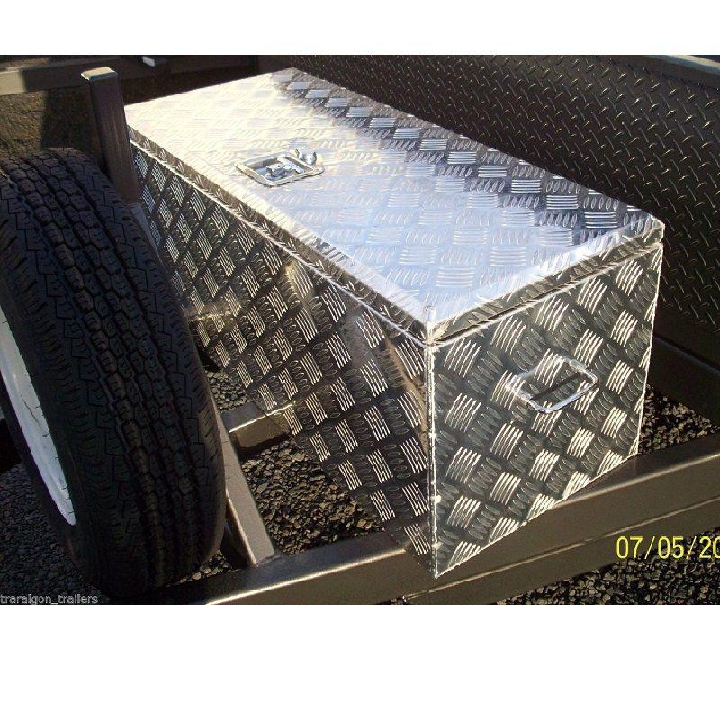 Aluminium Heavy Duty Toolbox 900x400x400
