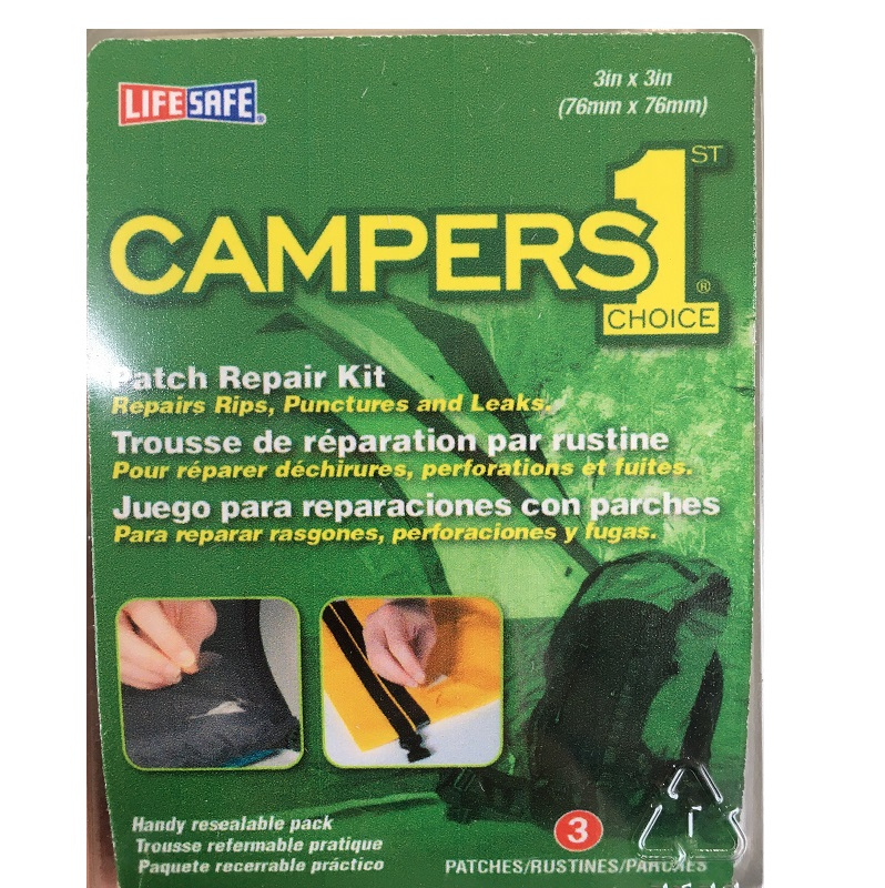 Campers choice awning repair tape 76mm x 76cm | Trailer ...