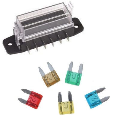 Mini Blade Fuses and Parts