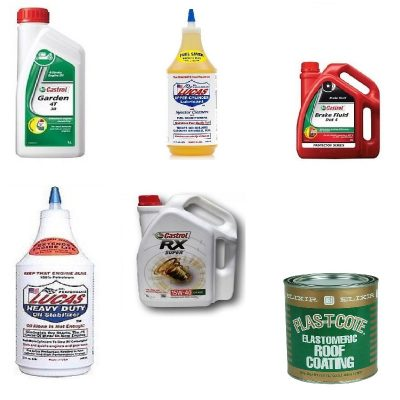 Oils, Grease and Lubricants