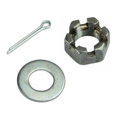 Axle Nuts, Washers and Pins