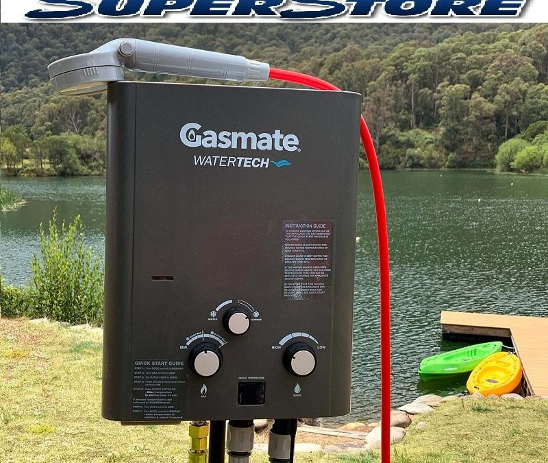 Gasmate portable hot water system